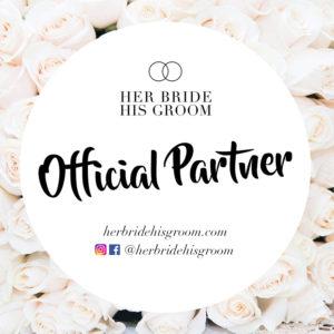 Official Partner of Her Bride His Groom